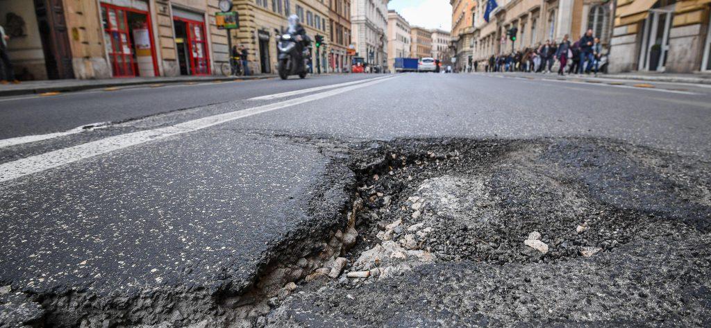 Buche stradali e risarcimento danni